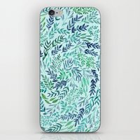 Wild Scattered Branches iPhone & iPod Skin
