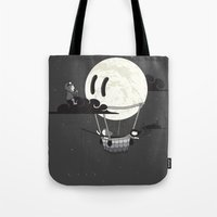 You Should See The Moon … Tote Bag