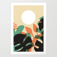 Jungle Sun #1 Art Print