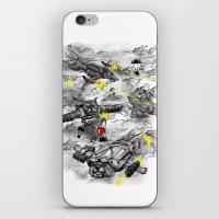 Dog Fight iPhone & iPod Skin