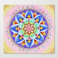 'We Are One' Mandala Canvas Print