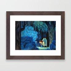 Forest Bug Hunt Framed Art Print
