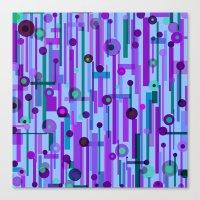 Plink Purple (see Also P… Canvas Print