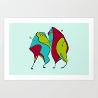 Significant Others Art Print