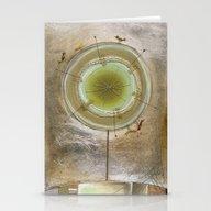 Metallic Tree Stationery Cards