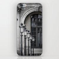 Parisian Streetlamps iPhone & iPod Skin
