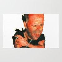 Bruce Willis Rug