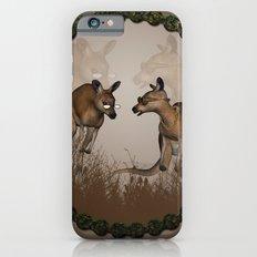Funny kangaroos Slim Case iPhone 6s