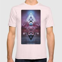 Vanguard Mens Fitted Tee Light Pink SMALL