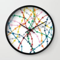 Trapped New Wall Clock