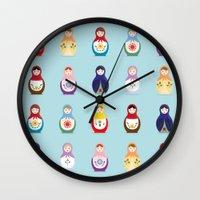 MATRYOSHKAS SERIES Wall Clock