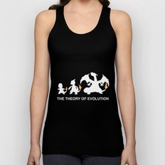 The Theory of Evolution  Unisex Tank Top