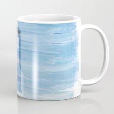 TARDIS Under the Sea - Doctor Who Digital Watercolor Mug