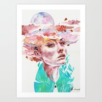 I Came To Earth To Haunt… Art Print
