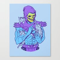 Masters of the Meowniverse Canvas Print
