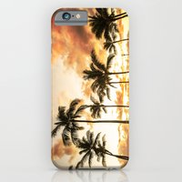 Typical Picturesque Waikiki Beach Sunset iPhone 6 Slim Case