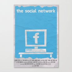 SOCIAL NETWORK Canvas Print