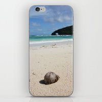 The Coconut Nut is a Giant Nut - beach view iPhone & iPod Skin