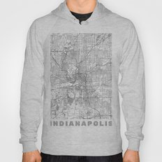 Indianapolis Map Line Hoody