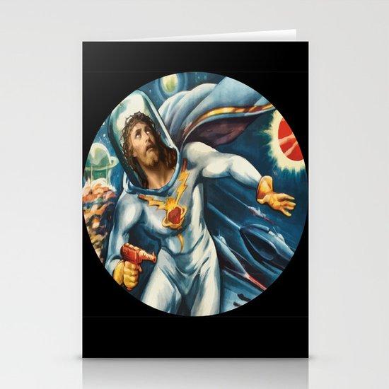Spaceman Jesus Stationery Card
