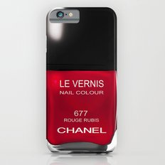Nail Polish Rouge Rubis iPhone 6s Slim Case