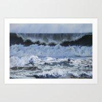 Wave After Wave Art Print