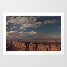 Grand Canyon - Color Art Print
