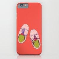 Polka Dot Shoes iPhone 6 Slim Case