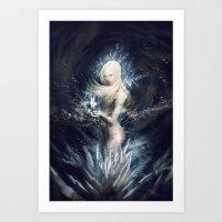 Hollow Ends Art Print