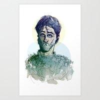 Fellow Amurrado Art Print