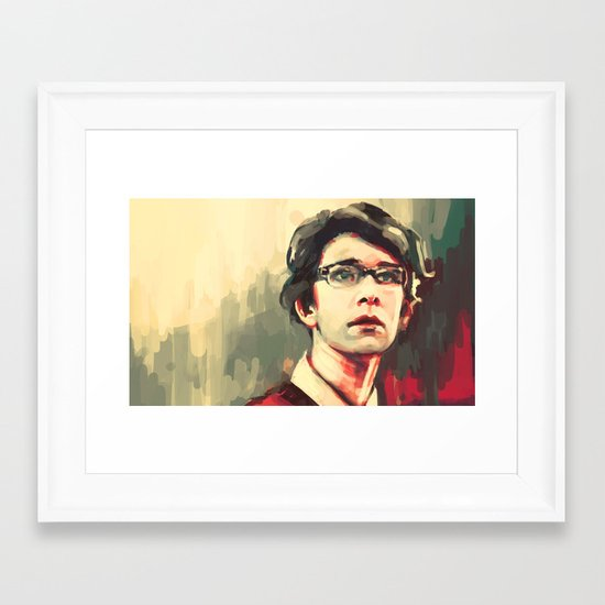 Quartermaster Framed Art Print
