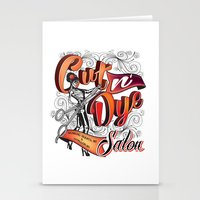 Cut N' Dye Girl Stationery Cards