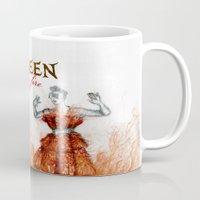 Mc Queen on fire Mug
