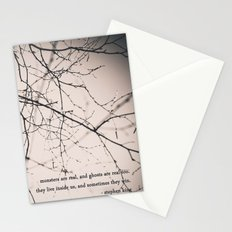 monsters + ghosts Stationery Cards