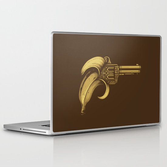 Banana Gun Laptop & iPad Skin