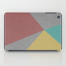 Concrete & Color iPad Case