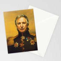 Alan Rickman - replaceface Stationery Cards