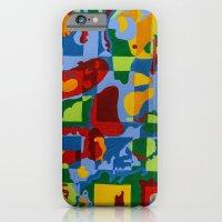 Geometric Garden iPhone 6 Slim Case