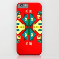iPhone & iPod Case featuring Oh Me Oh My by Art Official Industries