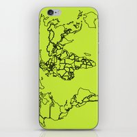 Sovereign Map iPhone & iPod Skin