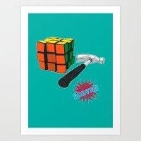 solved ! Art Print
