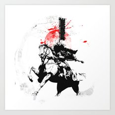 Samurai Japan Art Print