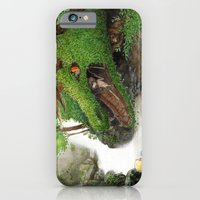 iPhone & iPod Case featuring Forest Dragon by Chawakarn Khongprasert