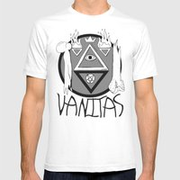 Vanitas Mens Fitted Tee White SMALL