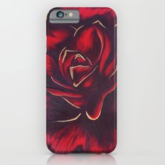 red rose iPhone 6s Slim Case