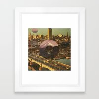 City Transport Framed Art Print