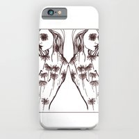 iPhone & iPod Case featuring Warm Flowers by Ellie Craze