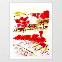 Little Red Chuchu Art Print