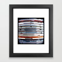 CD Stack - Through The Viewfinder (TTV) - ANALOG zine Framed Art Print