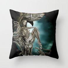 Dolls - Robot Shark Throw Pillow